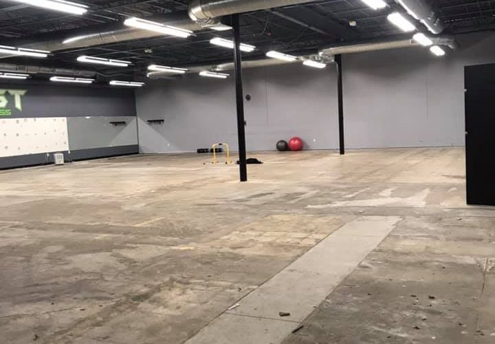 New Gym Space